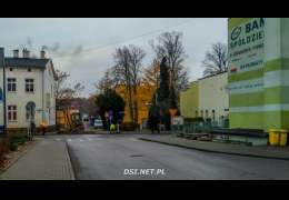 Sobota: utrudnienia w Drawsku. Trwa przyłączanie Polnej do drogi krajowej