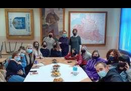 Postała grupa młodych muzealników w Czaplinku