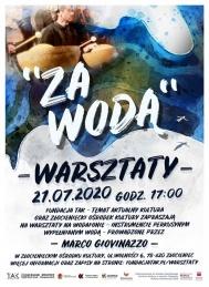 """2020-07-20 do 26 Warsztaty i koncerty """"Za wodą"""""""