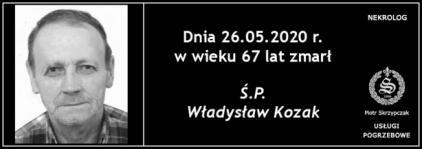Ś.P. Władysław Kozak