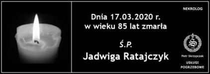 Ś.P. Jadwiga Ratajczyk