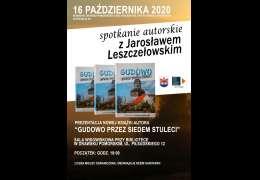 2020-10-16 Spotkanie autorskie z Jarosławem Leszczełowskim