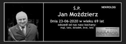 Ś.P. Jan Moździerz