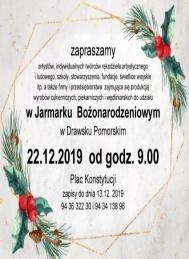 2019-12-22 Jarmark Bożonarodzeniowy w Drawsku Pomorskim