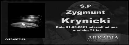 Ś.P. Zygmunt Krynicki