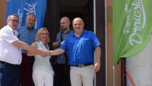 Powiat Drawski kupił budynek banku