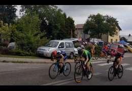 Ania Preca po kraksie ale i tak z medalem w wyścigu kolarskim Ogólnopolskiej Olimpiady Młodzieży