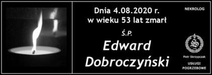 Ś.P. Edward Dobroczyński