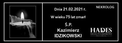 Ś.P. Kazimierz Idzikowski