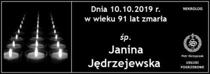 Ś.P. Janina Jędrzejewska
