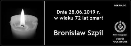 Ś.P. Bronisław Szpil