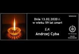 Ś.P. Andrzej Cyba