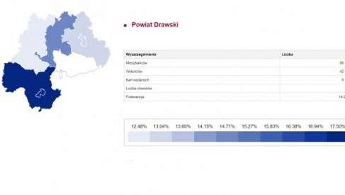 II tura: Na godzinę 12:00 w powiecie drawskim oddało głosy 5 962 uprawnionych – frekwencja