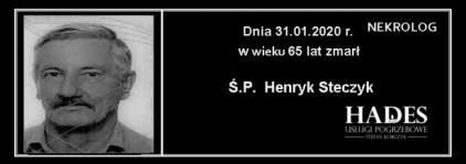 Ś.P. Henryk Steczyk