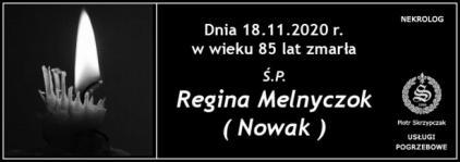 Ś.P. Regina Melnyczok
