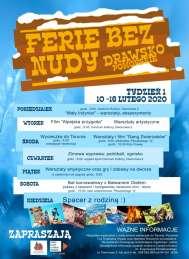 2020-02-10 do 16 Ferie w Drawsku Pomorskim (Pierwszy tydzień)
