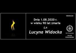 Ś.P. Lucyna Widocka