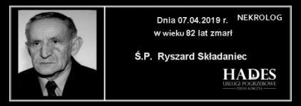 Ś.P. Ryszard Składaniec