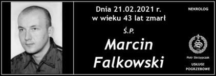 Ś.P. Marcin Falkowski