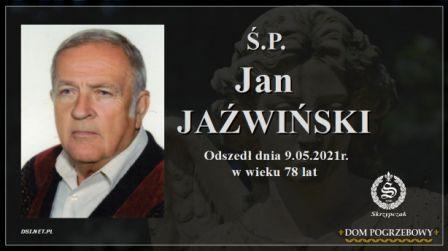 Ś.P. Jan Jaźwiński