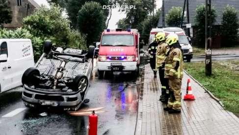 Wypadek w Siemczynie – zdjęcia