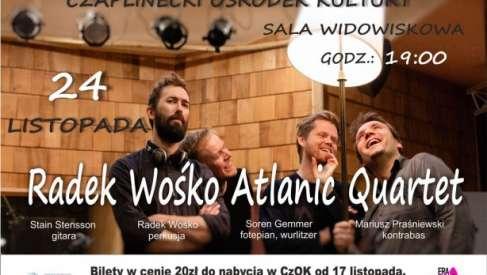 2019-11-17 Radek Wośko Atlanie Quartet - koncert