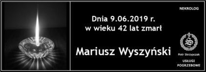 Ś.P. Mariusz Wyszyński