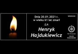 Ś.P. Henryk Hajdukiewicz