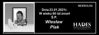 Ś.P. Wiesław Plak