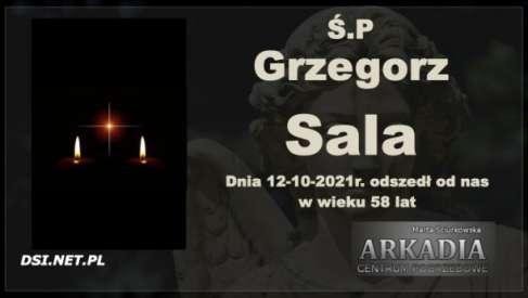 Ś.P. Grzegorz Sala