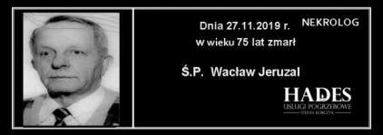 Ś.P. Wacław Jeruzal