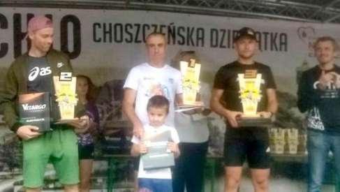 Andrzej zwycięża w biegu w Choszcznie
