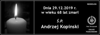 Ś.P. Andrzej Kopinski