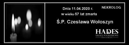 Ś.P. Czesława Wołoszyn