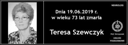 Ś.P. Teresa Szewczyk