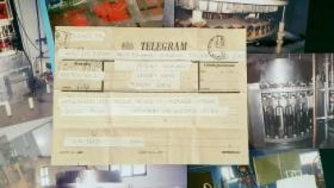 Firma ze Złocieńca przypomina jak wyglądał telegram ponad 30 lat temu