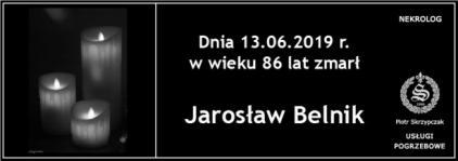 Ś.P. Jarosław Belnik