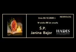Ś.P. Janina Bajor