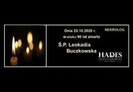 Ś.P. Leokadia Buczkowska