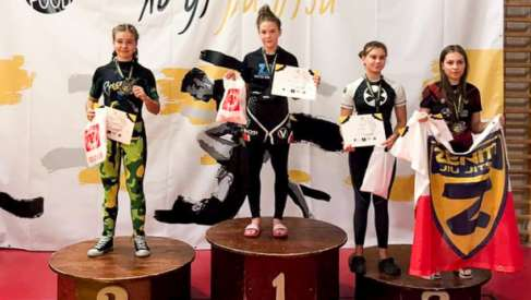 Młodzi zawodnicy z Drawska na podium w Mistrzostwach  Polski Jiu-Jitsu No Gi