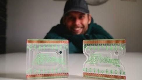 Projektant z Drawska z nowym wynalazkiem. Jego firma NUDEcnc wypuszcza na rynek Nlap