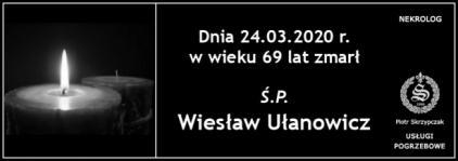 Ś.P Wiesław Ułanowicz