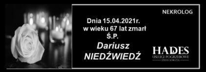 Ś.P. Dariusz Niedźwiedź