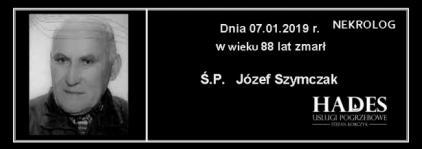 Ś.P. Józef Szymczak