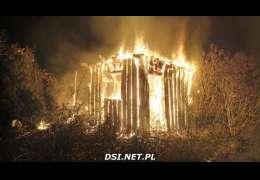 W nocy spłonęła altana na ogródkach działkowych
