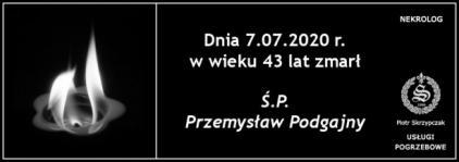 Ś.P. Przemysław Podgajny