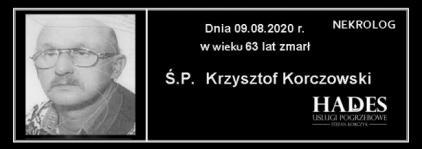 Ś.P. Krzysztof Korczowski