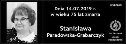 Ś.P. Stanisława Paradowska - Grabarczyk