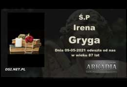 Ś.P. Irena Gryga