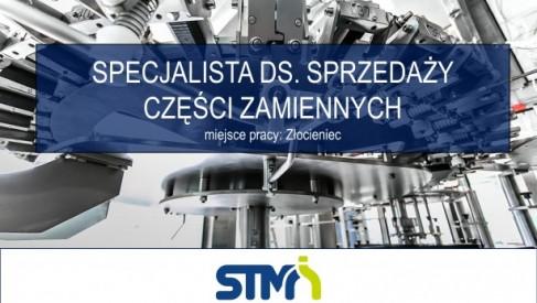 SPECJALISTA DS. ZAKUPÓW CZĘŚCI ZAMIENNYCH w STM Sp. z o.o.